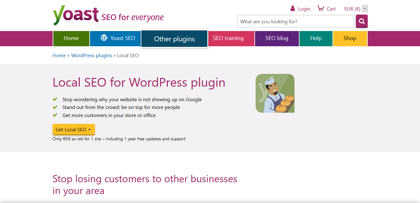 Yoast Local SEO for WP plugin 13.6 – Increase your SEO performance‎