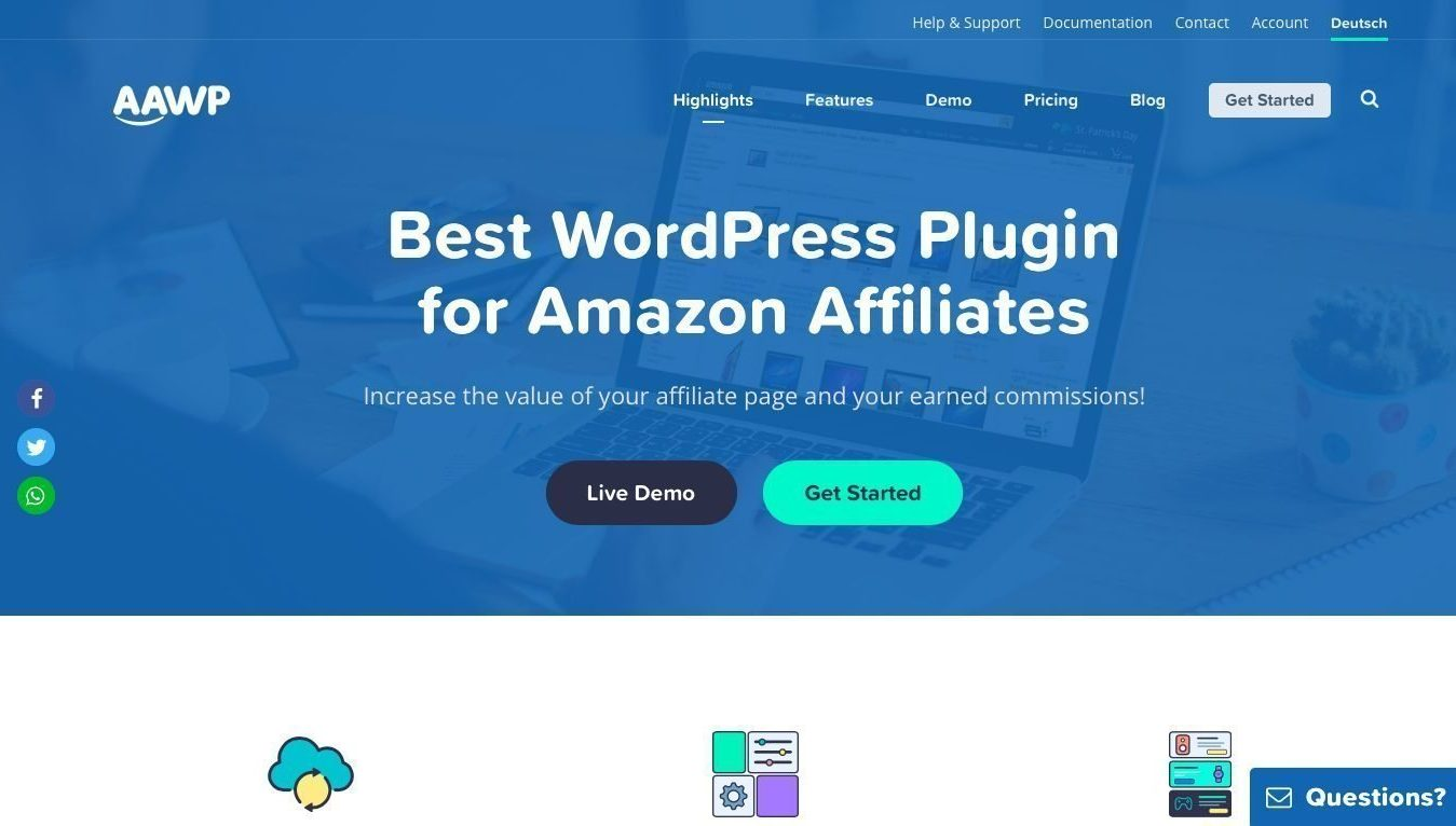 AAWP 3.15 + License Key – Amazon Affiliate WordPress Plugin