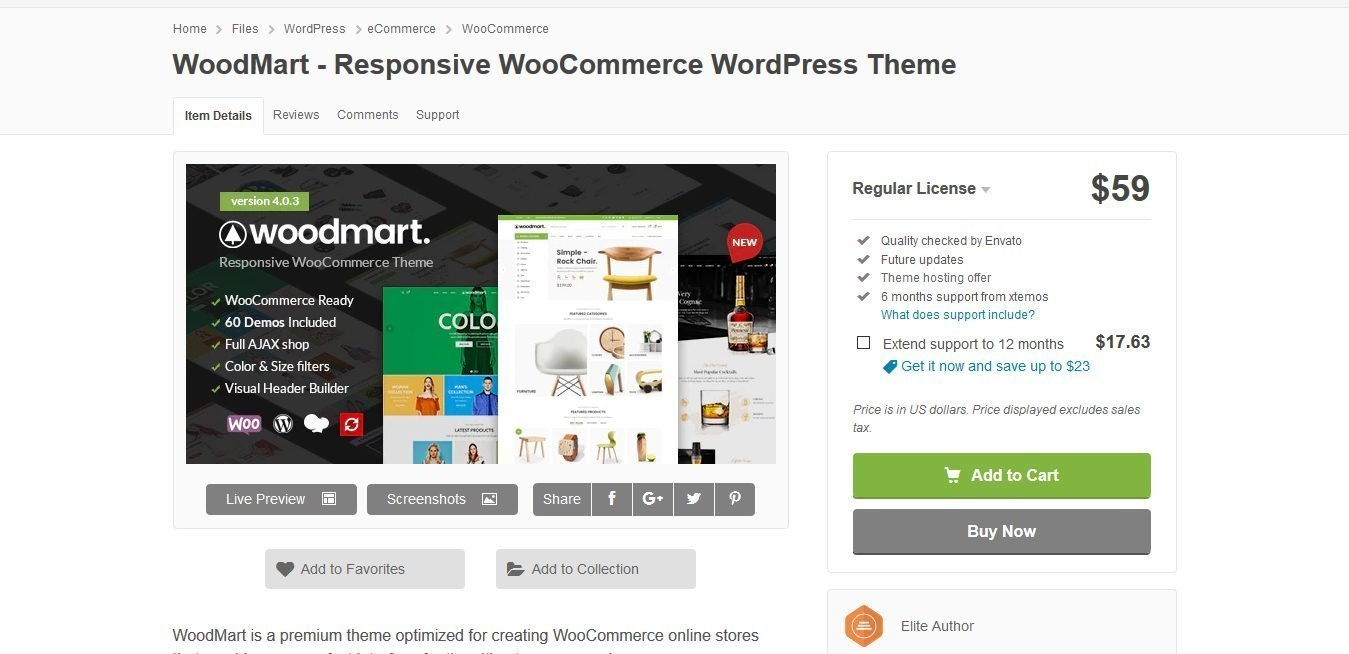 WoodMart 5.2.0 – Responsive WooCommerce WordPress Theme
