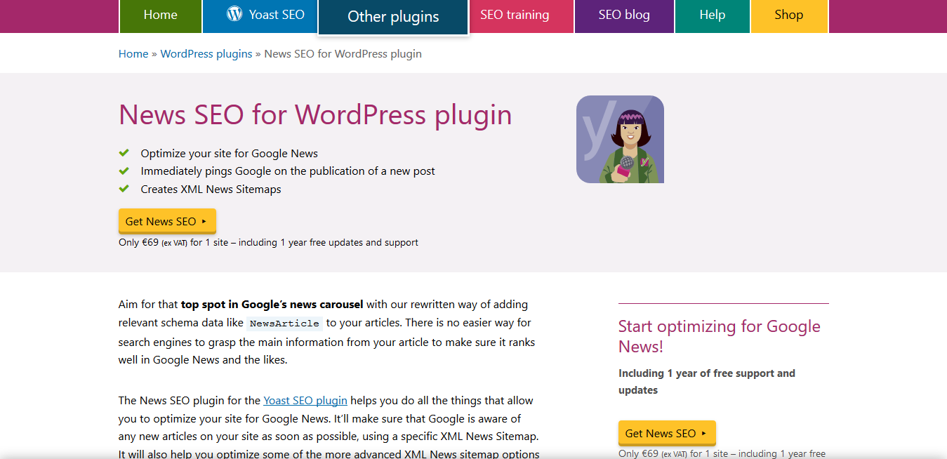 nulled yoast News SEO for WordPress plugin