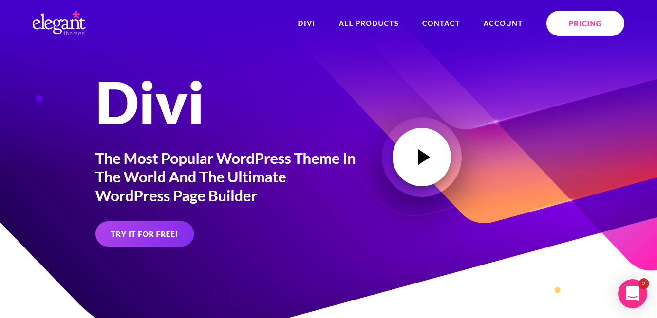 The Divi Builder Plugin 4.9.4 + Demos – Page Builder by Elegant Themes