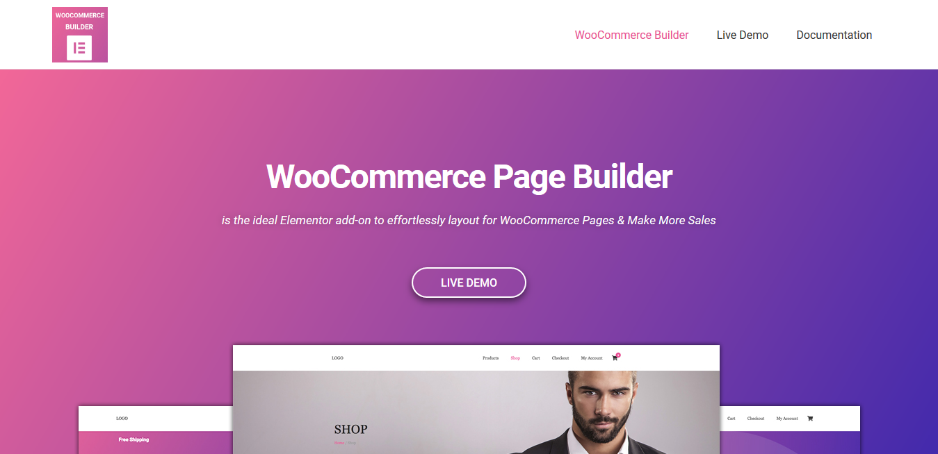 woocommerce page builder elementor nulled free.