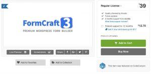 FormCraft – Premium WordPress Form Builder 3.8.16