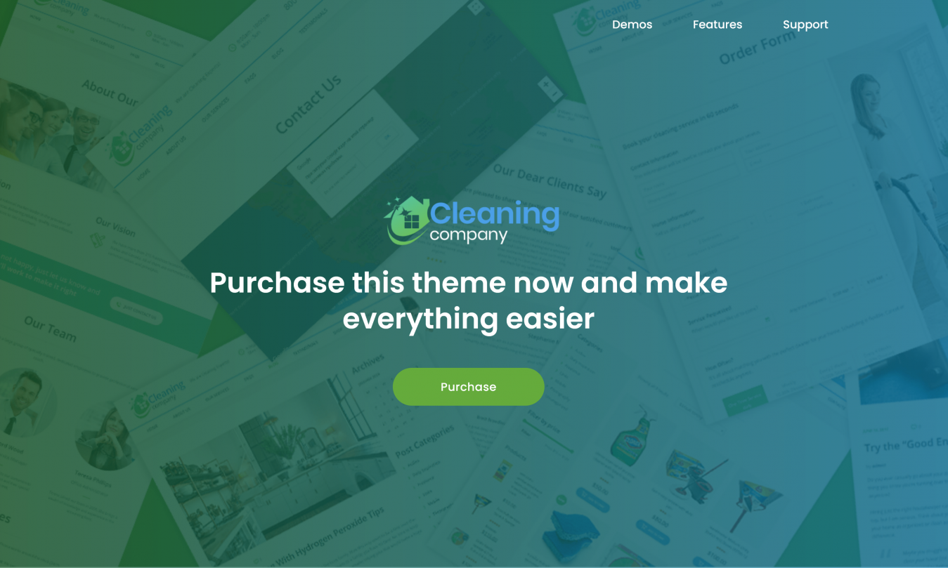 GPL free GPL Cleaning Services Theme 2.2 + RTL [Active License Key]