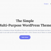 The Simple Business WordPress Theme Preview ThemeForest 100x100 - GPL The Simple 2.7.5 - Business Theme [Active License Key]